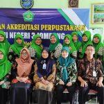 Pembinaan Akreditasi Perpustakaan oleh Tim Akreditasi Perpustakaan Mastrip Jombang