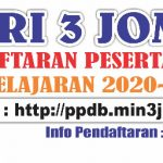 Informasi PPDB Tahun Pelajaran 2020-2021